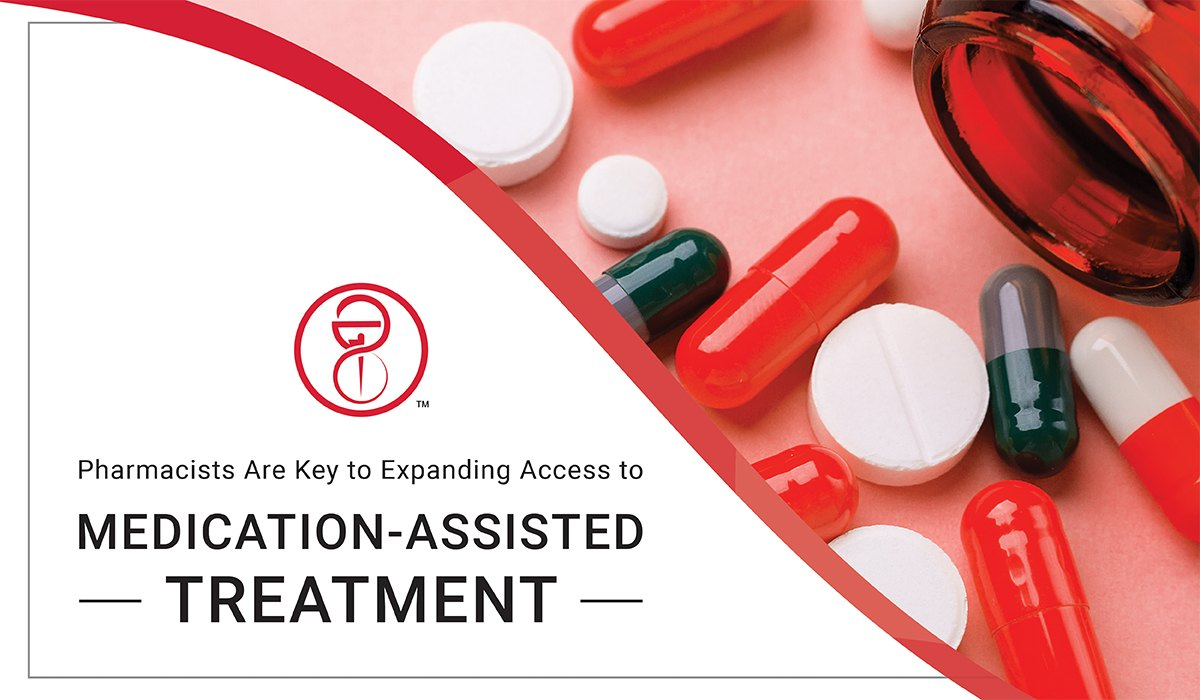 Image with prescription drugs for Medication Assisted Treatment initiative