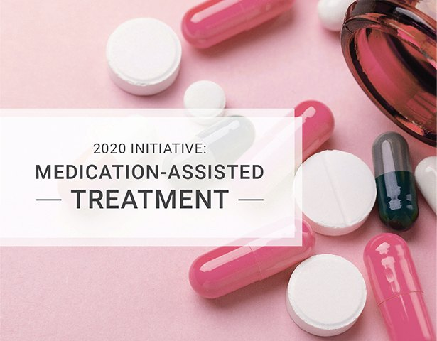 Image to show the 2020 presidential initiative: medication assisted treatment